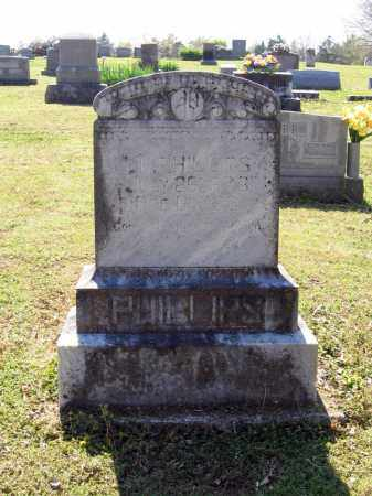 "PHILLIPS, IVY HERBERT ""I. H."" - Lawrence County, Arkansas 