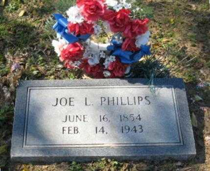 "PHILLIPS, SR., JOSEPH LEANDER ""JOE L."" - Lawrence County, Arkansas 