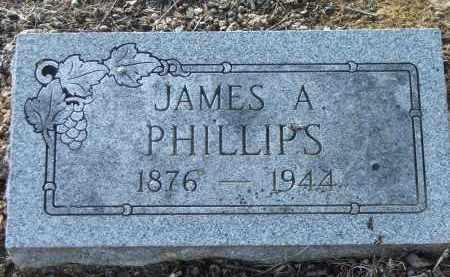 PHILLIPS, JAMES ARTHUR - Lawrence County, Arkansas | JAMES ARTHUR PHILLIPS - Arkansas Gravestone Photos