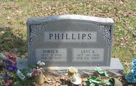 PHILLIPS, DORIS KATHLEEN - Lawrence County, Arkansas | DORIS KATHLEEN PHILLIPS - Arkansas Gravestone Photos