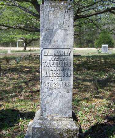 PHILLIPS, LAMMA MAY - Lawrence County, Arkansas | LAMMA MAY PHILLIPS - Arkansas Gravestone Photos