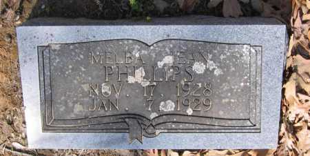 PHILLIPS, MELBA JEAN - Lawrence County, Arkansas   MELBA JEAN PHILLIPS - Arkansas Gravestone Photos