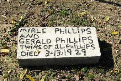 PHILLIPS, MYRLE - Lawrence County, Arkansas   MYRLE PHILLIPS - Arkansas Gravestone Photos