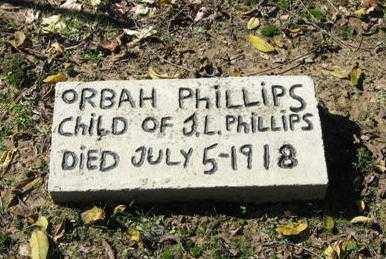 PHILLIPS, ORBAH MAE - Lawrence County, Arkansas | ORBAH MAE PHILLIPS - Arkansas Gravestone Photos