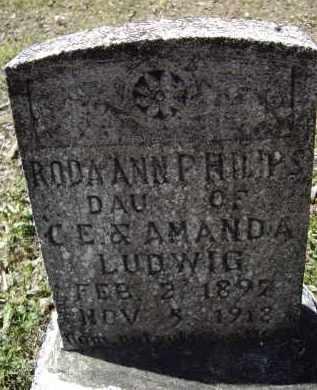 PHILLIPS, RODA ANNA - Lawrence County, Arkansas   RODA ANNA PHILLIPS - Arkansas Gravestone Photos