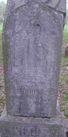 """PHILLIPS, STEPHEN THOMAS """"S. T."""" - Lawrence County, Arkansas 