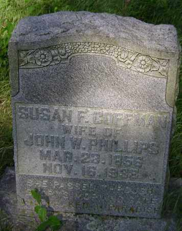 PHILLIPS, SUSAN FRANCES - Lawrence County, Arkansas | SUSAN FRANCES PHILLIPS - Arkansas Gravestone Photos