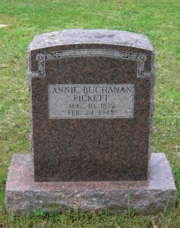 "BUCHANAN PICKETT, ANN ELIZABETH ""ANNIE"" - Lawrence County, Arkansas | ANN ELIZABETH ""ANNIE"" BUCHANAN PICKETT - Arkansas Gravestone Photos"