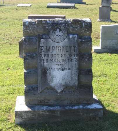 PICKETT, ELMER WHITFIELD - Lawrence County, Arkansas | ELMER WHITFIELD PICKETT - Arkansas Gravestone Photos