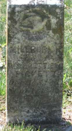 PICKETT, MILBOURN H. - Lawrence County, Arkansas   MILBOURN H. PICKETT - Arkansas Gravestone Photos