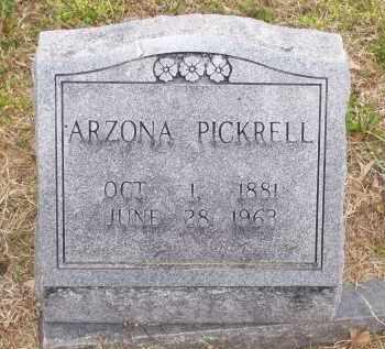 PICKRELL, ARZONA JOSEPHINE ZELDA - Lawrence County, Arkansas | ARZONA JOSEPHINE ZELDA PICKRELL - Arkansas Gravestone Photos