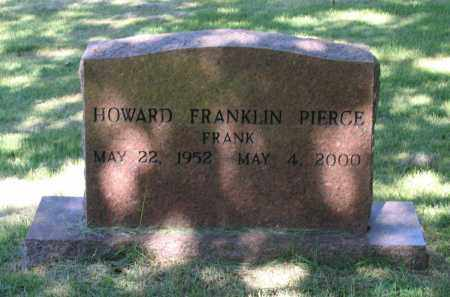 "PIERCE, HOWARD FRANKLIN ""FRANK"" - Lawrence County, Arkansas 
