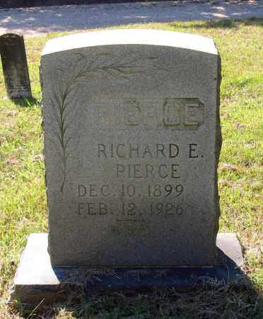 PIERCE, RICHARD E. - Lawrence County, Arkansas | RICHARD E. PIERCE - Arkansas Gravestone Photos