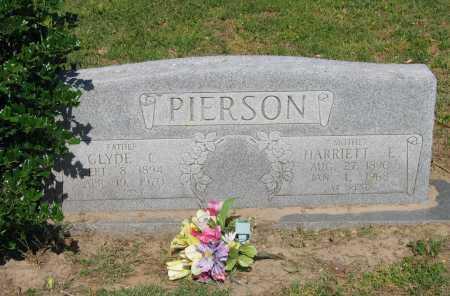 PIERSON, CLYDE C. - Lawrence County, Arkansas | CLYDE C. PIERSON - Arkansas Gravestone Photos