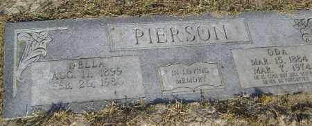 PIERSON, ODA - Lawrence County, Arkansas | ODA PIERSON - Arkansas Gravestone Photos