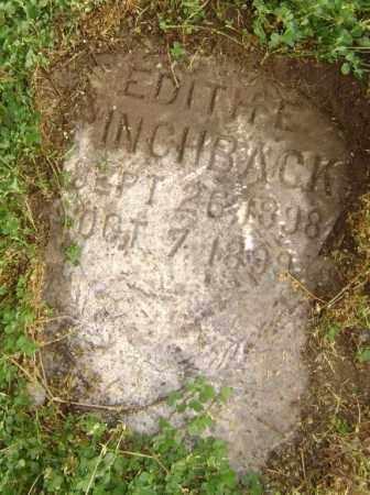 PINCHBACK, EDITH E. - Lawrence County, Arkansas   EDITH E. PINCHBACK - Arkansas Gravestone Photos