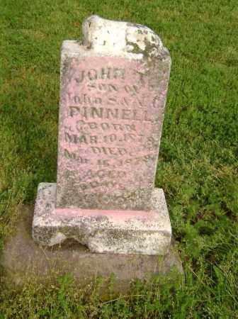PINNELL, JOHN - Lawrence County, Arkansas   JOHN PINNELL - Arkansas Gravestone Photos