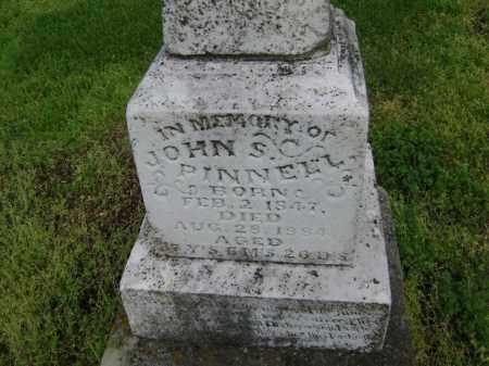 PINNELL, JOHN S. - Lawrence County, Arkansas | JOHN S. PINNELL - Arkansas Gravestone Photos