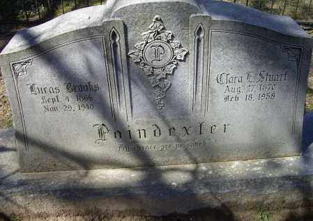 POINDEXTER, CLARA E. - Lawrence County, Arkansas | CLARA E. POINDEXTER - Arkansas Gravestone Photos