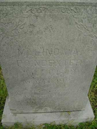 POINDEXTER, MALINDA A. - Lawrence County, Arkansas | MALINDA A. POINDEXTER - Arkansas Gravestone Photos