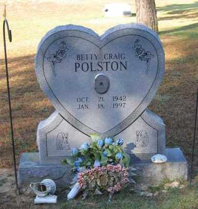 POLSTON, BETTY LOUISE - Lawrence County, Arkansas | BETTY LOUISE POLSTON - Arkansas Gravestone Photos