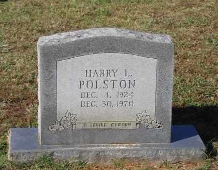 POLSTON, HARRY L. - Lawrence County, Arkansas   HARRY L. POLSTON - Arkansas Gravestone Photos