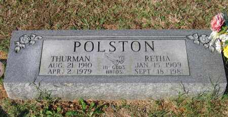 POLSTON, THURMAN - Lawrence County, Arkansas | THURMAN POLSTON - Arkansas Gravestone Photos