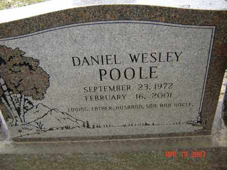 POOLE, DANIEL WESLEY - Lawrence County, Arkansas   DANIEL WESLEY POOLE - Arkansas Gravestone Photos