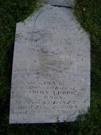 PRYOR POPE, IDA C. - Lawrence County, Arkansas | IDA C. PRYOR POPE - Arkansas Gravestone Photos