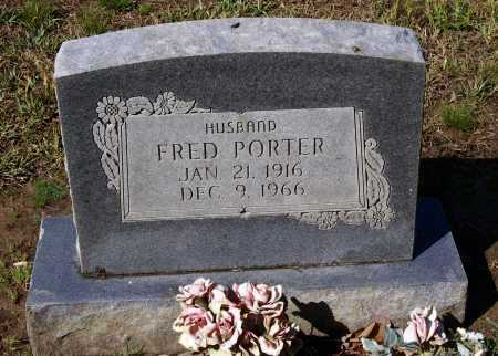 PORTER, FRED - Lawrence County, Arkansas | FRED PORTER - Arkansas Gravestone Photos