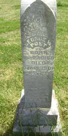 POST, GEORGE W. - Lawrence County, Arkansas | GEORGE W. POST - Arkansas Gravestone Photos