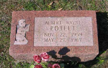 POTEET, ALBERT WAYNE - Lawrence County, Arkansas | ALBERT WAYNE POTEET - Arkansas Gravestone Photos