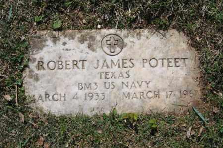 POTEET (VETERAN), ROBERT JAMES - Lawrence County, Arkansas | ROBERT JAMES POTEET (VETERAN) - Arkansas Gravestone Photos