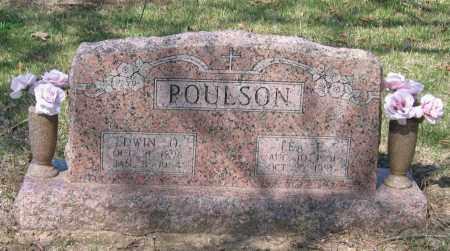 POULSON, EDWIN OSCAR - Lawrence County, Arkansas | EDWIN OSCAR POULSON - Arkansas Gravestone Photos