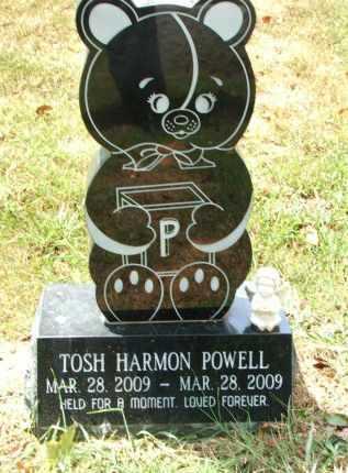 POWELL, TOSH HARMON - Lawrence County, Arkansas | TOSH HARMON POWELL - Arkansas Gravestone Photos