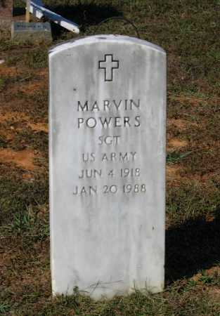 POWERS (VETERAN), MARVIN - Lawrence County, Arkansas   MARVIN POWERS (VETERAN) - Arkansas Gravestone Photos