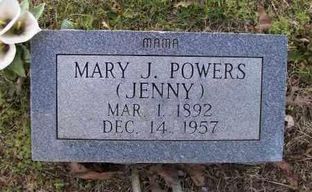 "GRIMES POWERS, MARY JANE ""JENNY"" - Lawrence County, Arkansas   MARY JANE ""JENNY"" GRIMES POWERS - Arkansas Gravestone Photos"