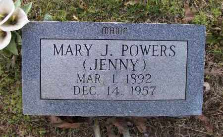 "POWERS, MARY JANE ""JENNY"" - Lawrence County, Arkansas 