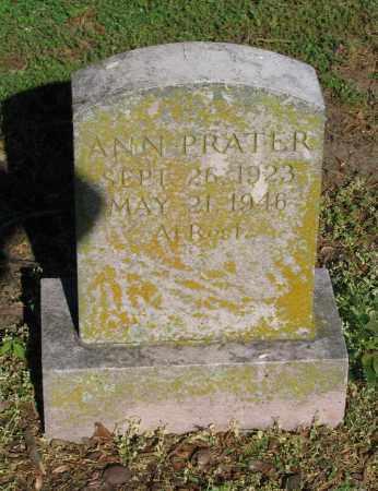PRATER, ANN - Lawrence County, Arkansas | ANN PRATER - Arkansas Gravestone Photos