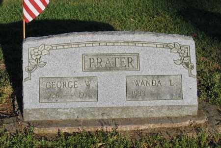PRATER, GEORGE W. - Lawrence County, Arkansas | GEORGE W. PRATER - Arkansas Gravestone Photos