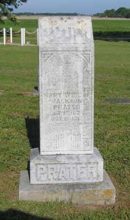 PRATER, MARY - Lawrence County, Arkansas | MARY PRATER - Arkansas Gravestone Photos