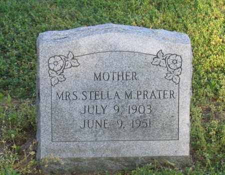 PRATER, STELLA M. - Lawrence County, Arkansas   STELLA M. PRATER - Arkansas Gravestone Photos