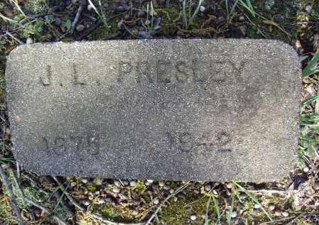 PRESLEY, JOHN L. - Lawrence County, Arkansas | JOHN L. PRESLEY - Arkansas Gravestone Photos