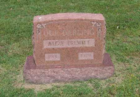 PREWITT, ALGIE - Lawrence County, Arkansas   ALGIE PREWITT - Arkansas Gravestone Photos