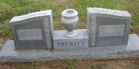 PREWITT, W. HOMER - Lawrence County, Arkansas | W. HOMER PREWITT - Arkansas Gravestone Photos