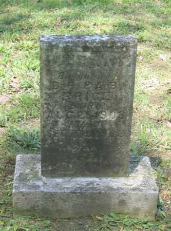 PRICE, INFANT DAUGHTER - Lawrence County, Arkansas | INFANT DAUGHTER PRICE - Arkansas Gravestone Photos