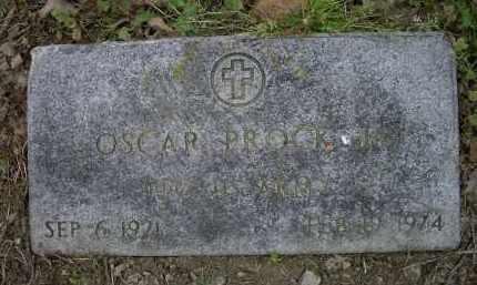PROCK, JR. (VETERAN), OSCAR - Lawrence County, Arkansas | OSCAR PROCK, JR. (VETERAN) - Arkansas Gravestone Photos