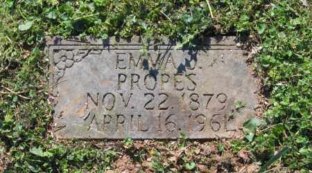 PROPES, EMMA J. - Lawrence County, Arkansas | EMMA J. PROPES - Arkansas Gravestone Photos