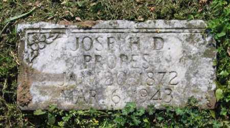 PROPES, JOSEPH D. - Lawrence County, Arkansas   JOSEPH D. PROPES - Arkansas Gravestone Photos