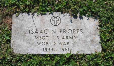PROPES (VETERAN WWII), ISAAC NEWTON - Lawrence County, Arkansas   ISAAC NEWTON PROPES (VETERAN WWII) - Arkansas Gravestone Photos